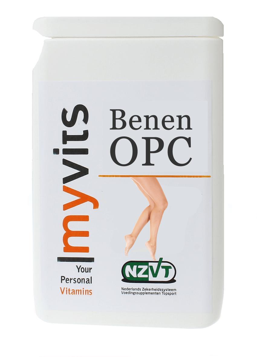Benen OPC 95. Voor een goede conditie van de bloedvaten MyVits