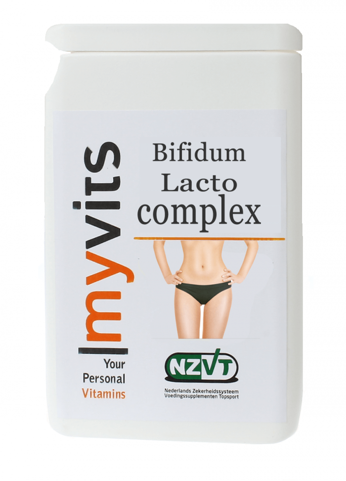 Bifidum lacto complex 30 stuks MyVits