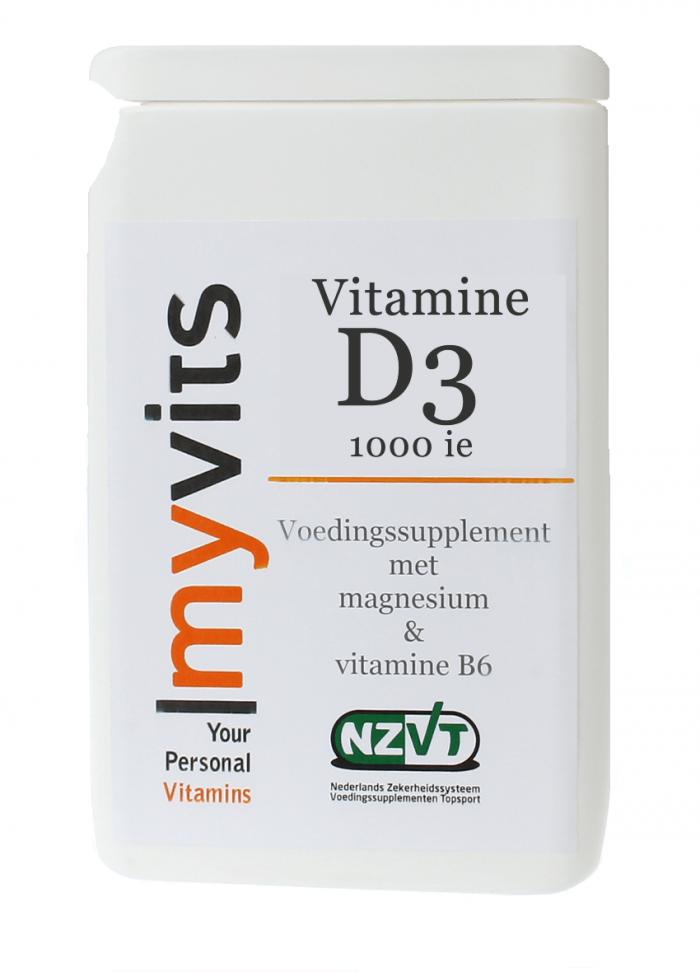 Vitamine D3 75 mcg 3000ie MyVits