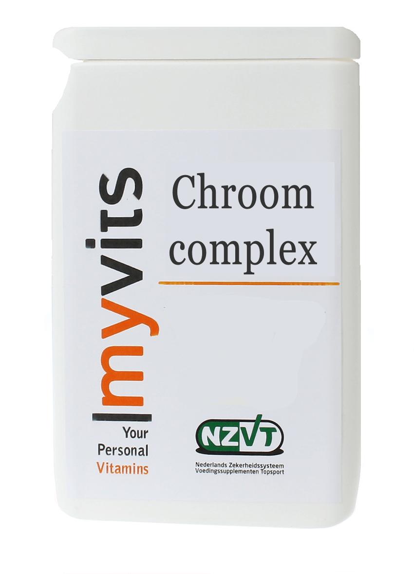 Chroom complex helpt je de dag door MyVits