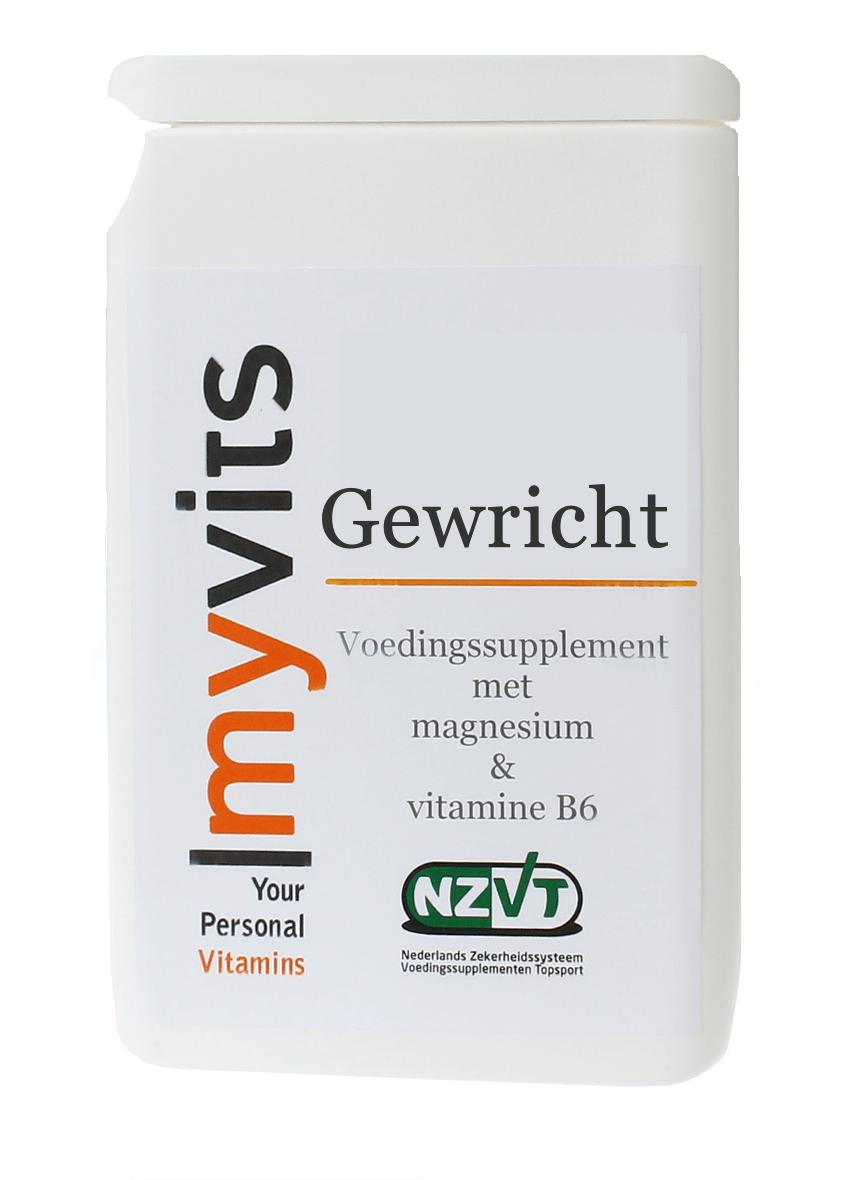 Gewricht. 60 stuks met MSM & chondroitine MyVits