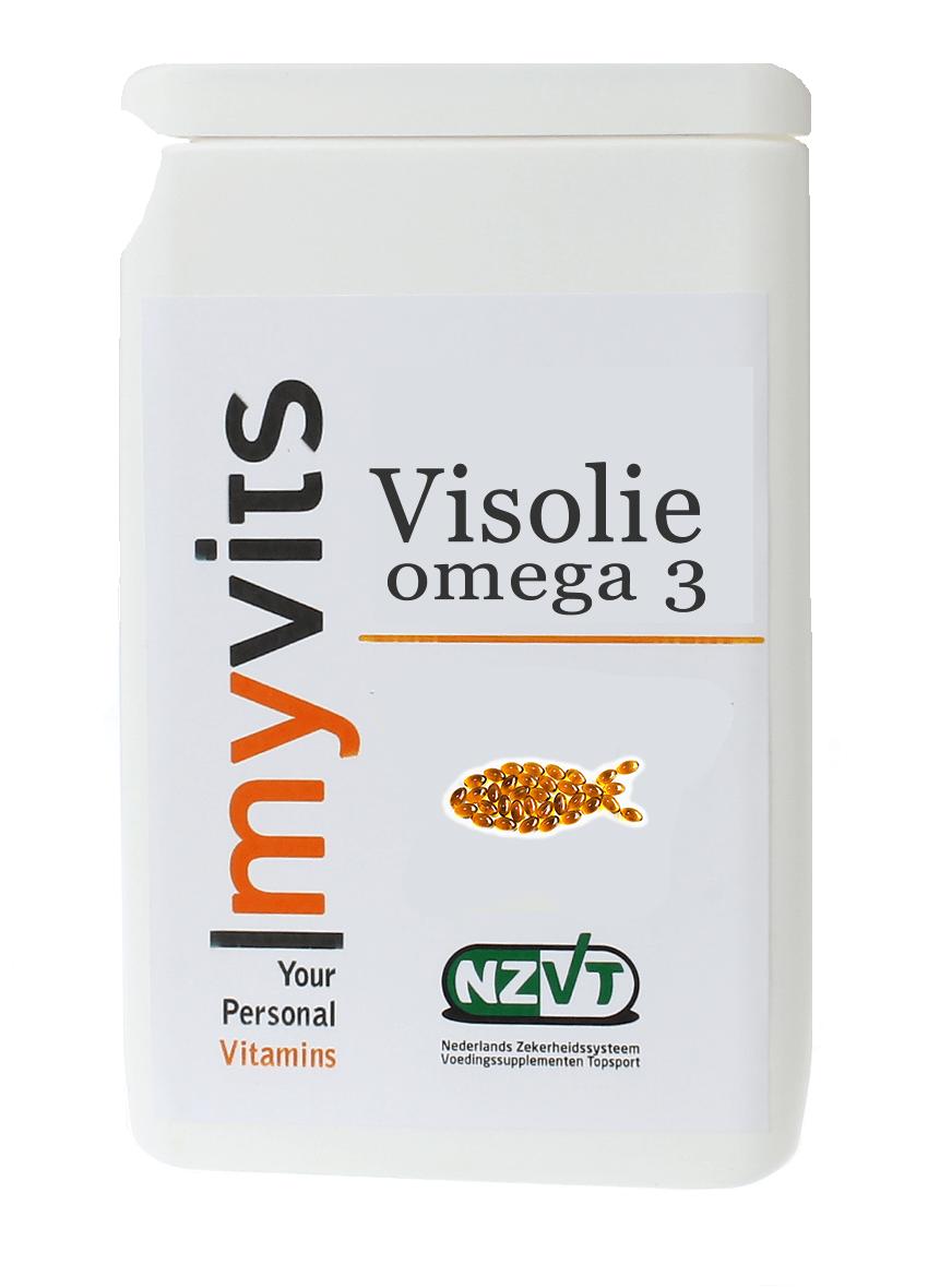 Visolie. Omega-3 vetzuren 60 MyVits