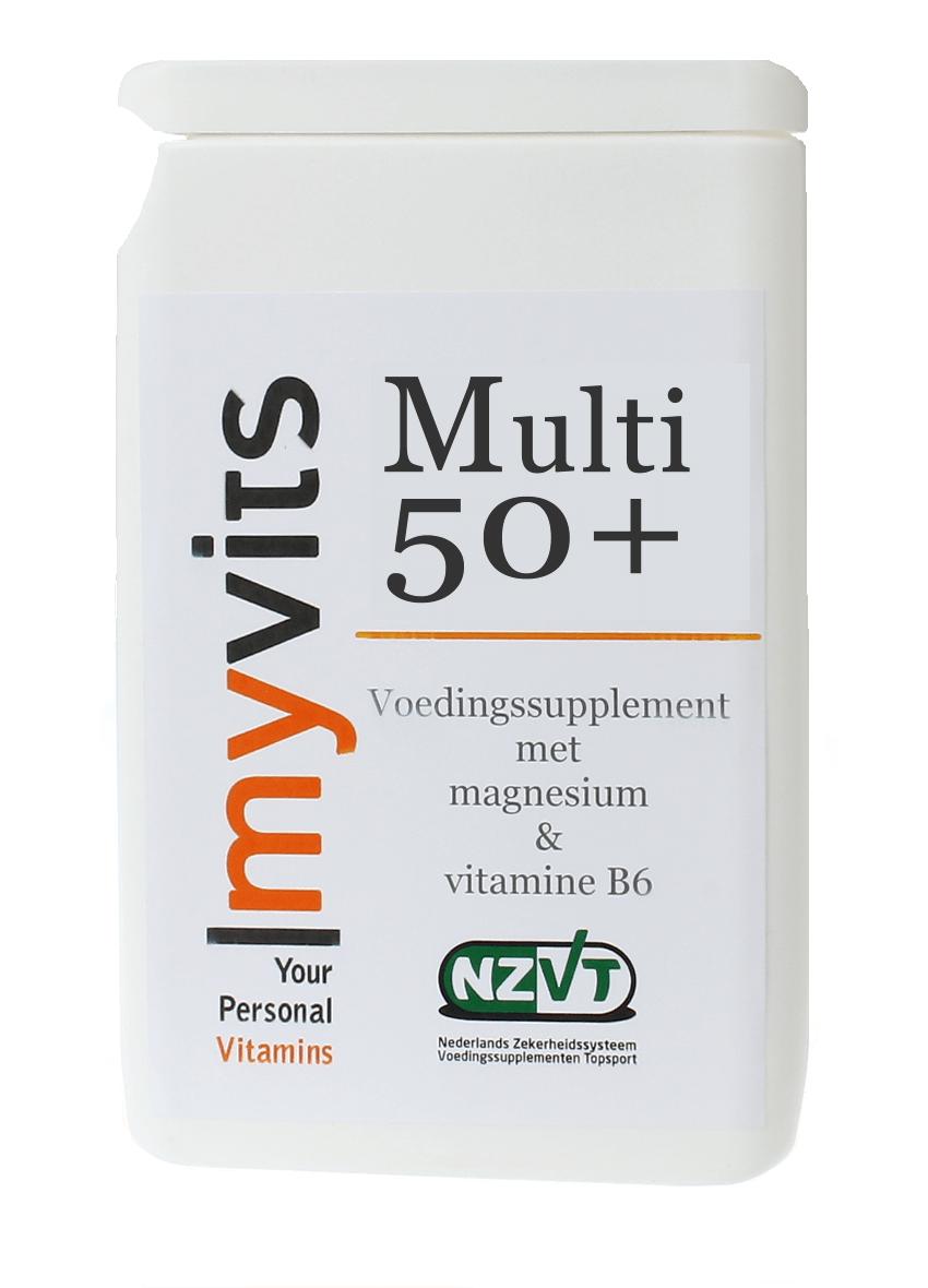 Multi 50 2x60 stuks Een goed opneembare formule MyVits