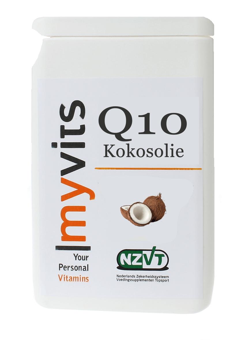 Q10 & kokosolie. Aangevuld met goede vetten uit kokosolie MyVits