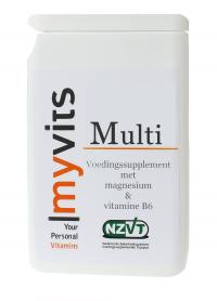 Multi. 120 stuks Uitgebreide formule MyVits