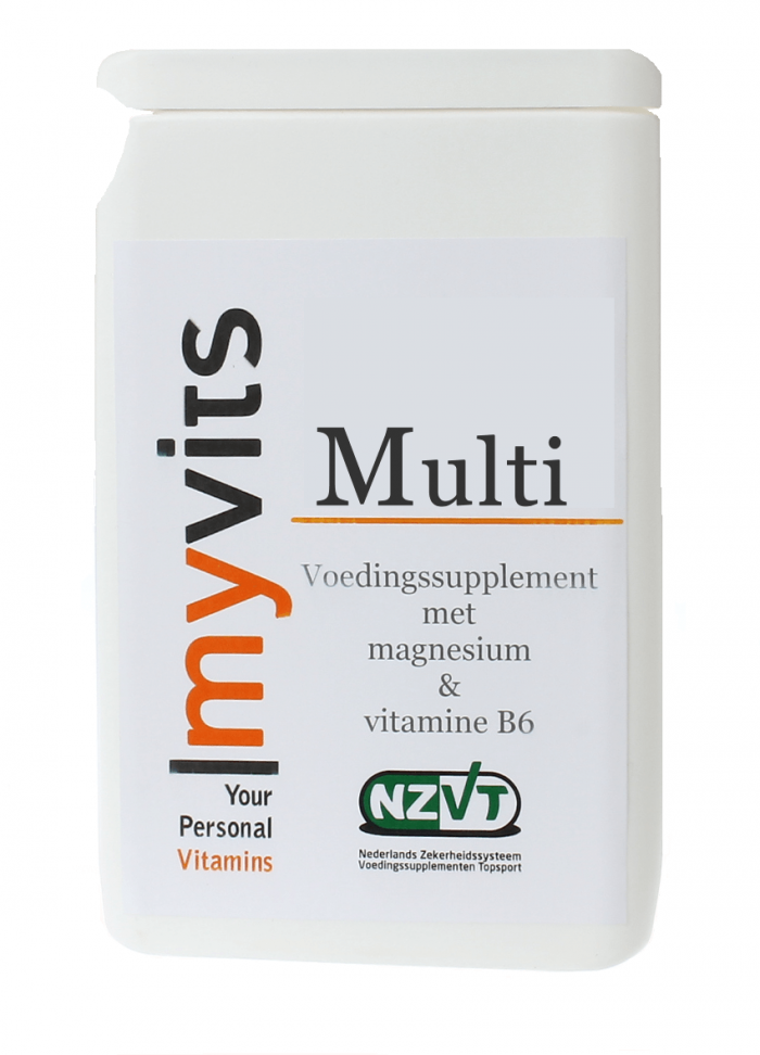 Multi. 60 stuks Uitgebreide formule MyVits