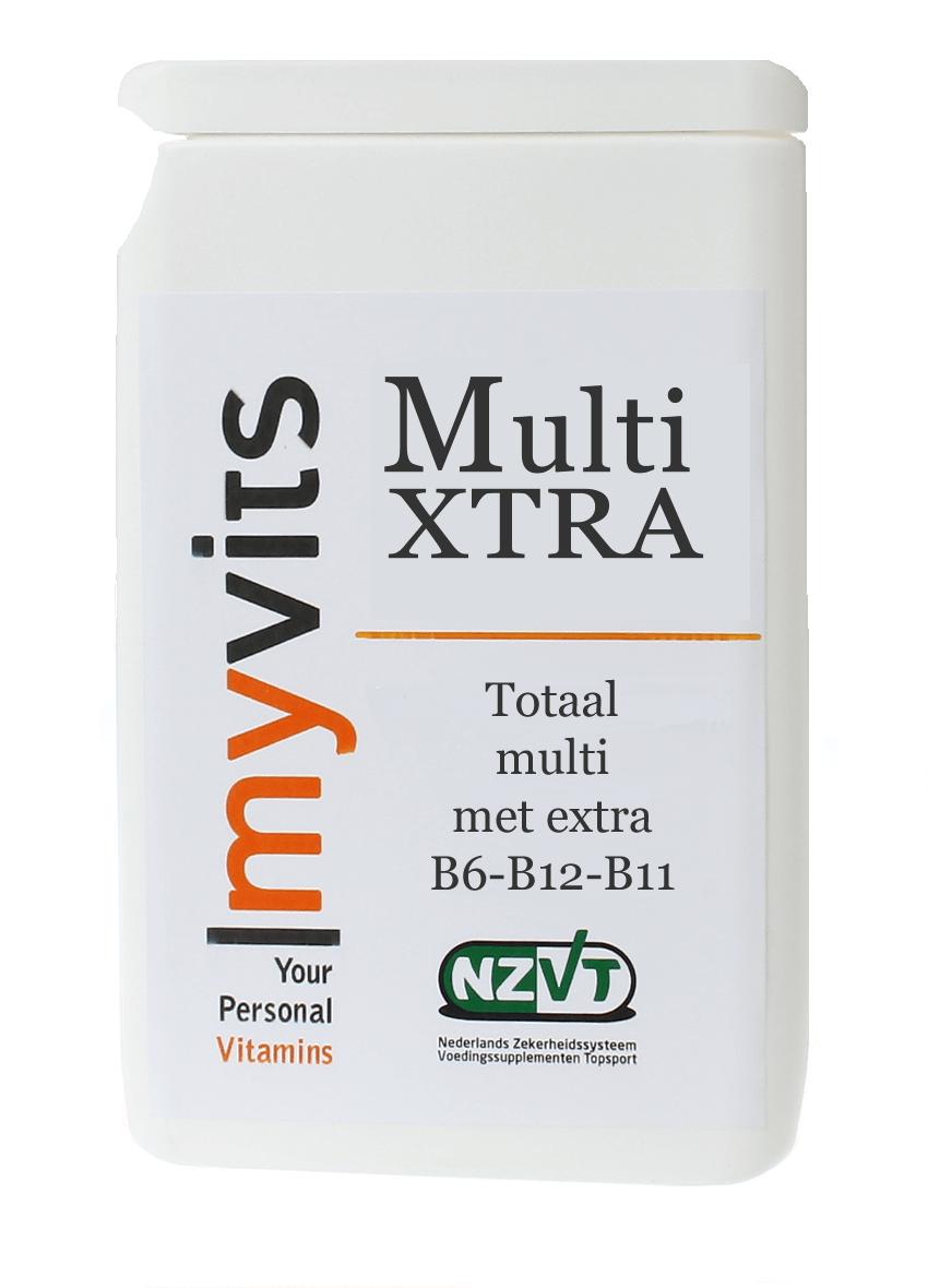 Multi XTRA 2x60 stuks Een goed opneembare formule MyVits